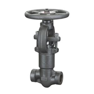 Self Sealing OSY Forged Steel Valves ,  ANSI 2500LB Solid Wedge Globe Valve