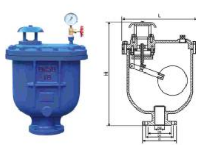 Sewage Combination 2 Air Release Valve Stainless API 598 Standard