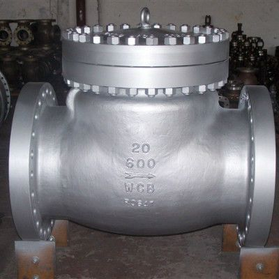 ANSI 600LB RF Industrial Flanged Check Valve , Carbon Steel Swing Type Check Valve