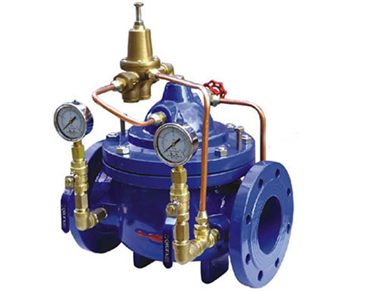 Diaphragm Type Hydraulic Control Valves , Automatic Main Emergency Water Shut Off Valve