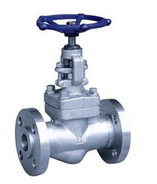 Outside Screw And Yoke Forged Steel Valves , A182F304 Flange Type Gate Valve