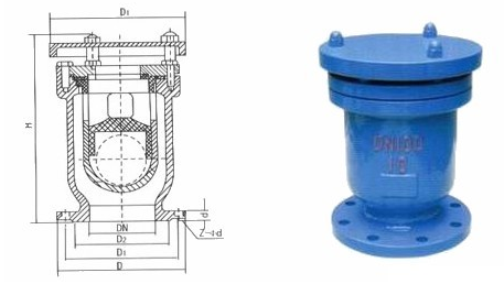 Safety Low Pressure Air Relief Valve , Automatic Air Release Valve