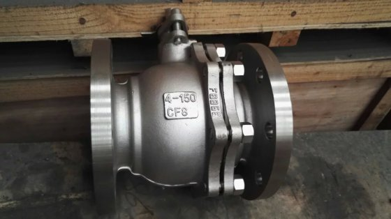 API Carbon Steel ,Stainless Steel CF8/CF8M/CF3 RF Flanged Ball Valve