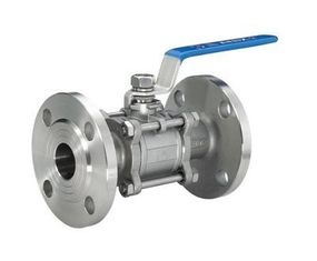 China 4 Inch CF8M Flanged Ball Valve , Anti - Static 3 Way ISO 5211 Ball Valve supplier
