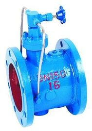China Automatic Actuated Flanged Check Valve , Sanitary Butterfly Check Valve supplier