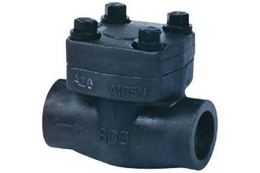China API602 1 Inch Forged Steel Valves , High Pressure Swing Check Valve supplier