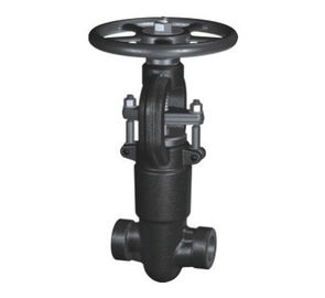 China BSPT / NPT Threaded 1/2'' Pressure Seal Gate Valve Bonnet Structure supplier