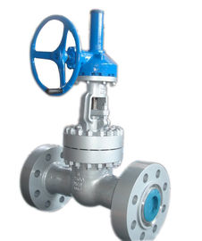 China Class 900 Bevel Gear Operated Gate Valve Face To Face Dimensions ASME B16 10 supplier