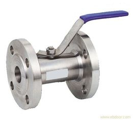 China API6D 1PC Flanged Ball Valve Class 150 Stainless Steel With Handwheel supplier
