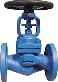 China Bolted Bonnet Bellows Seal Globe Valve PN40 Flange With Dual Seal supplier