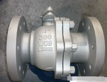 China ANSI 300LB Flanged Ball Valve , API608 Carbon Steel Floating Type Ball Valve supplier