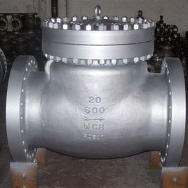 China ANSI 600LB RF Industrial Flanged Check Valve , Carbon Steel Swing Type Check Valve supplier
