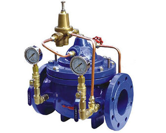 China Diaphragm Type Hydraulic Control Valves , Automatic Main Emergency Water Shut Off Valve supplier