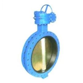 China Cast Iron Centerline Butterfly Valves , ISO 5211 U Type Flanged Butterfly Valve supplier