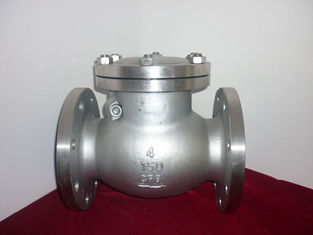 China API6D Oil / Gas Stainless Steel Check Valve 20'' Flange Type ANSI 300LB supplier