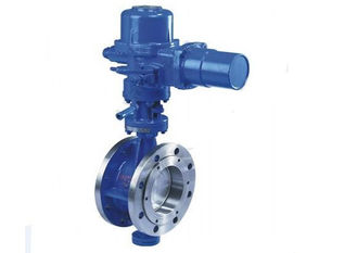 China High Pressure Electric Actuator Butterfly Valve Three Eccentric API609 Standard supplier