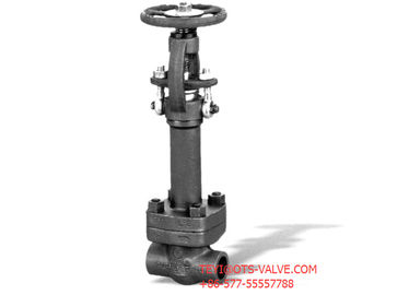 China Stainless Steel Extended Body Gate Valve Bolted Bonnet Class 800 SW End supplier