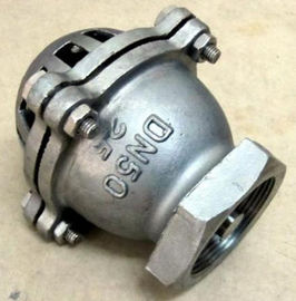 China BSPT / BSP / NPT Threaded Foot Valve For Pumps PN10 Stainless Steel 304 supplier