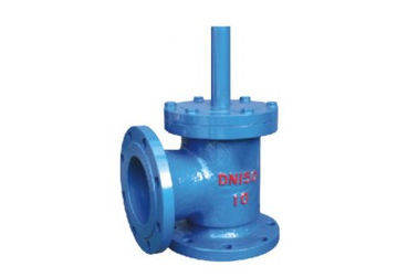 China PN10 RF Ductile Iron 10 Inch Foot Valve Flange Type For Water Class 125LB supplier