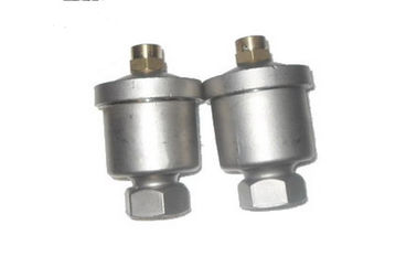 China Stainless Steel 1/4 '' Air Relief Valve / Air Release Valve Threaded NPT / BSPT / BSP supplier