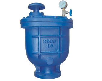 China Pipeline Air Release Valves For Water Systems Bonnet Cast Iron supplier