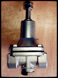 China 1/2 Inch PN6 - PN64 Screwed End BSPT / NPT SS304 Pressure Reduce Pilot Valves supplier