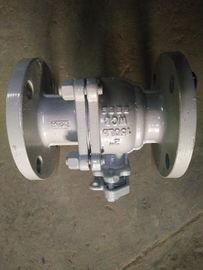 China API 6D 2 Inch 150LB Carbon Steel Floating Ball Valves For Water / Oil / Gas supplier