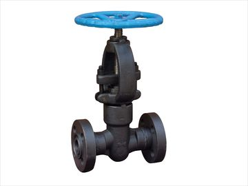 China 3/4 inch Welded Bonnet Forged Steel Self Sealing RF Flanged Globe Valves A105N supplier