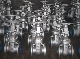 "China Bolted Bonnet Stainless Steel / Cast Steel Gate Valve 6"" 150lb ASME B16.34 ASME B16.10 supplier"