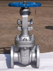 China API Stainless Steel CF8 2 Inch 150LB Wheel Handle Flanged Gate Valve For Oil supplier