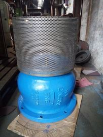 China Cast Ductile Iron Flanged Foot Valve with check type structure PN10 PN16 supplier