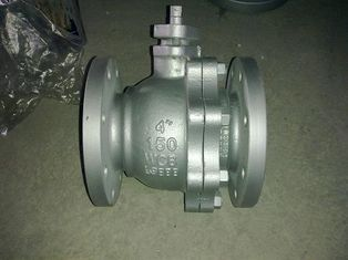 China API Carbon Steel ,Stainless Steel CF8/CF8M/CF3 RF Flanged Ball Valve supplier