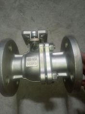 China SUS 304 SUS 316 JIS 10K 50A 80A  2PC Floating Flanged Ball Valve supplier