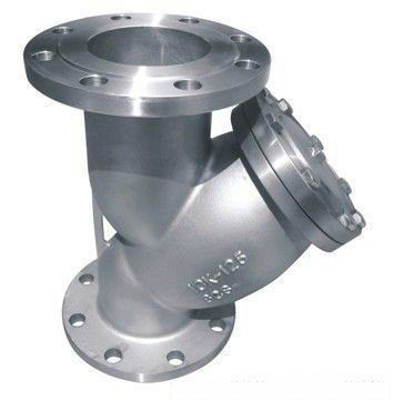 Flanged End High Pressure Strainer 2 Y Type Class 150 With