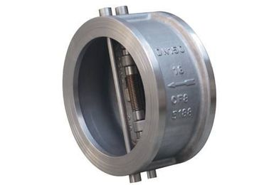 China Dual Disc Wafer Type Check Valve Butterfly API 594 ANSI 150LB For Water factory