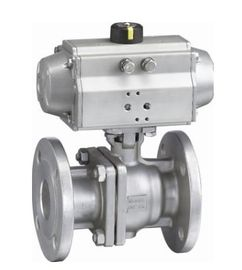 China ANSI 150LB ASME B16 34 Flange End Ball Valve , Lockable 4 Hydraulic Actuated Ball Valve factory