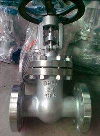China API 600 Class 300 Flanged Gate Valve , 4 OS & Y Gate Valve Stainless Steel distributor