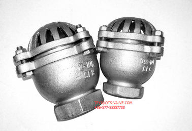 China JIS 5K Stainless Steel Inline Foot Valve CF8 / CF8M with Thread End distributor
