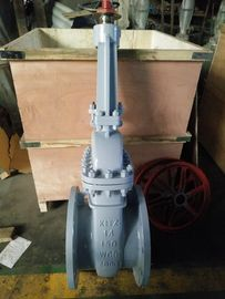 China API 600 14inch, 150LB Rising Stem Carbon Steel Flangedl Gate Valve distributor