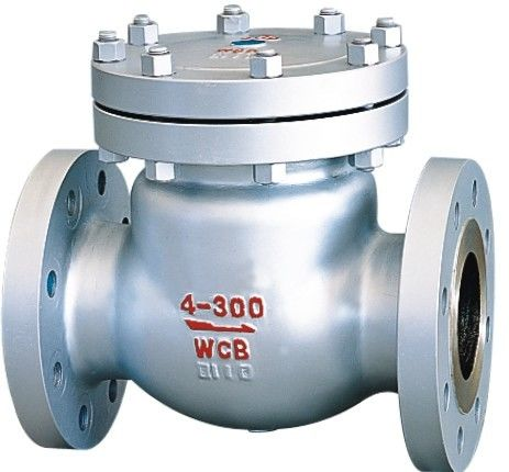 ANSI Class 300 2 Inch Flanged Check Valve , Swing BS 1868 Check Valve