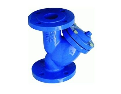 6 Inch Pressure Y Type Strainers Cast Iron Flanged Water