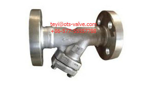 Welded Flange Type Y Strainer Valve Stainless API 602 Class 600